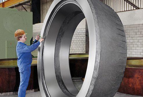 Walzenmantel einbaufertig bearbeitet | Gewicht 13 to | Cromodur oder NiHard möglich